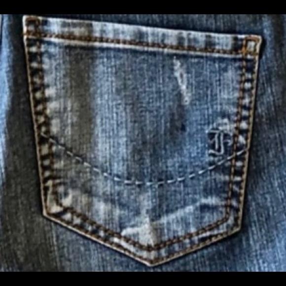 fragile Denim - Fragile Bell Bottom Boho Jeans Size 30 Misses